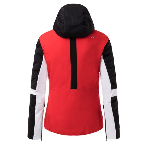 kjus formula red womens ski jacket