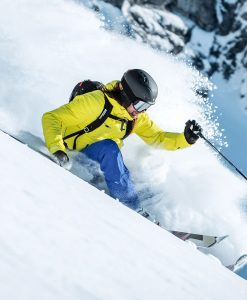 kjus formula ski jacket yellow