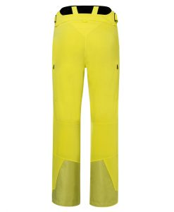 kjus formula ski pant mens yellow