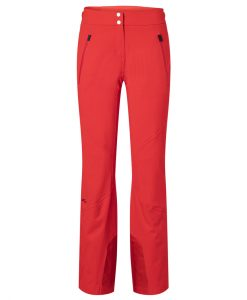 kjus formula ski pant women red