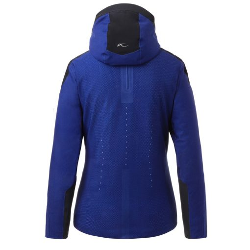 kjus freelite blue womens ski jacket