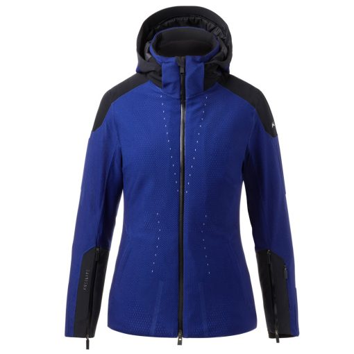 kjus freelite womens blue ski jacket