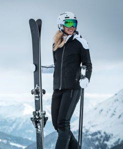 kjus freelite womens ski jacket black