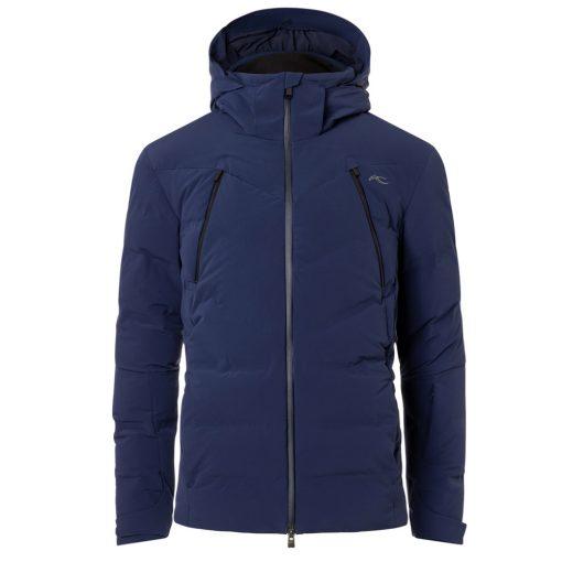 kjus mens ski jacket downforce blue