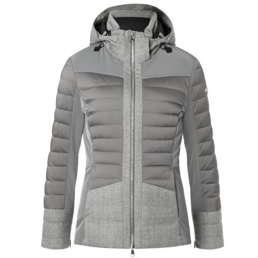 kjus palu womens gray ski jacket