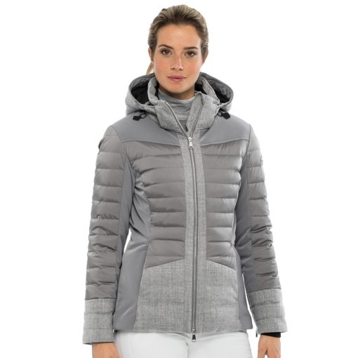 kjus palu womens ski jacket gray