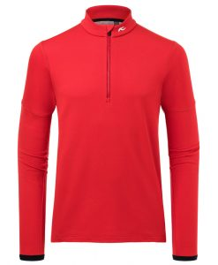 kjus ski fleece Diamond mens red