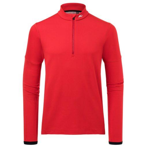 kjus ski fleece Diamond mens red