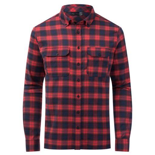 kjus skiwear macun shirt red