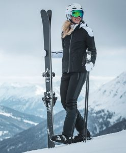 kjus womens black ski pant freelite