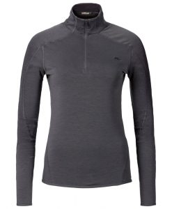 kjus womens midlayer black trace