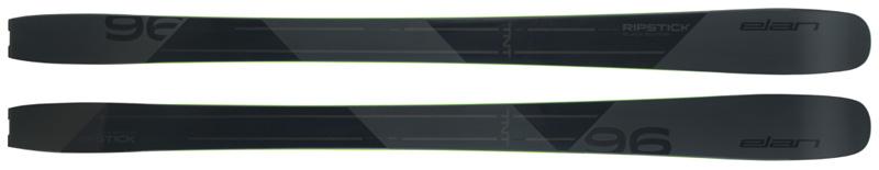 Elan Skis Ripstick Black 96