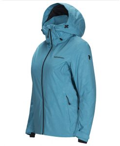 Peak Performance Alpine womens ski jacket aqua