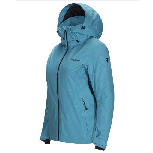 Peak Performance Alpine womens ski jacket aqua