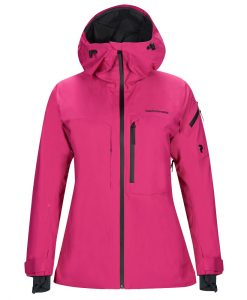 Peak Performance Alpine womens ski jacket pink 2l