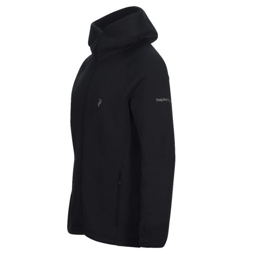 Peak Performance Chill Black Zip Hood