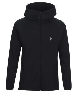 Peak Performance Chill Zip Hood Black