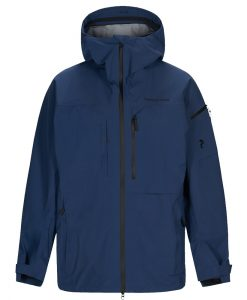 Peak Performance Mens Alpine Ski Jacket Blue