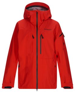 Peak Performance Mens Alpine Ski Jacket Red