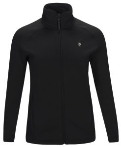Peak Performance chill womens ski fleece black