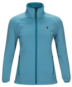 Peak Performance chill womens ski fleece blue