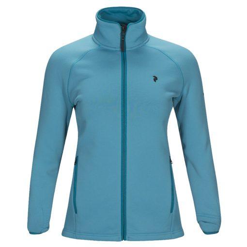 Peak Performance chill womens ski fleece blue