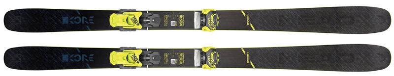 head rental skis kore 93