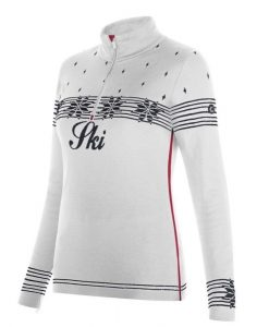 newland ski sweater anne white