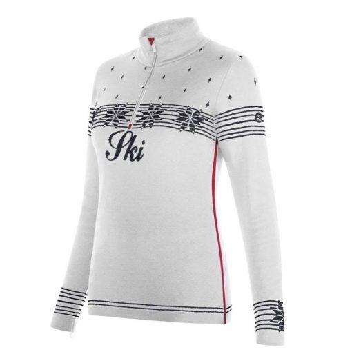newland ski sweater anne white